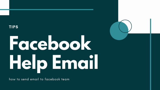 Email Address Of Facebook Team<br/>