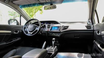 Nội thất Honda CIVIC Hải Phòng
