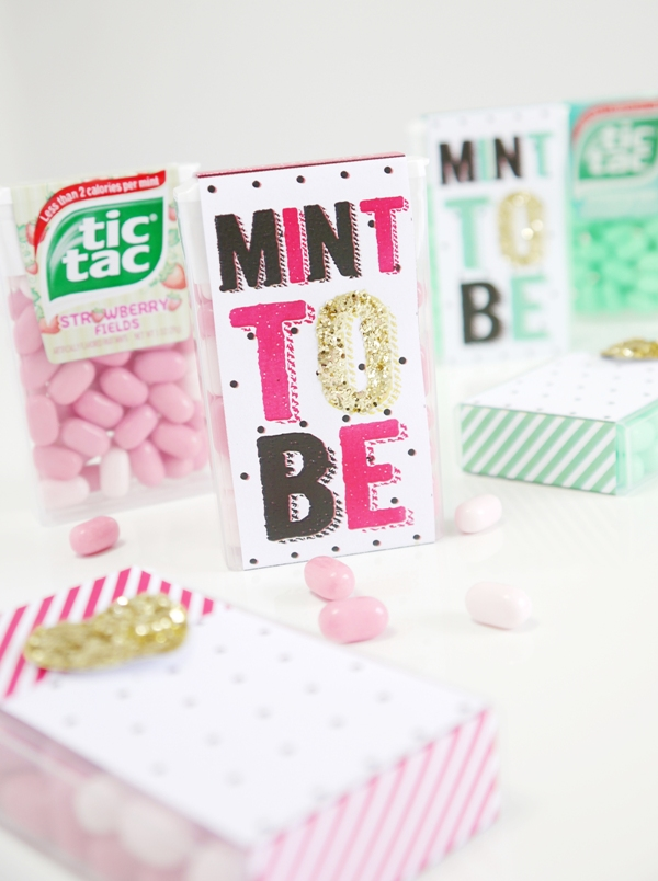 Tic Tac® DIY Wedding Favor Idea with Free Printables - BirdsParty.com
