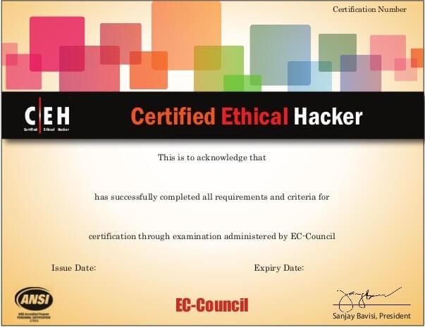 شهادة-CEH