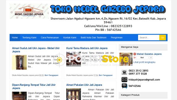 Mebel Gazebo Jepara - Verifikasi Toko Online Aman dan Terpercaya - Polisi Store