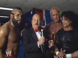 WWF (WWE) WRESTLEMANIA 1: Hulk Hogan, Mr. T and Jimmy Snuka
