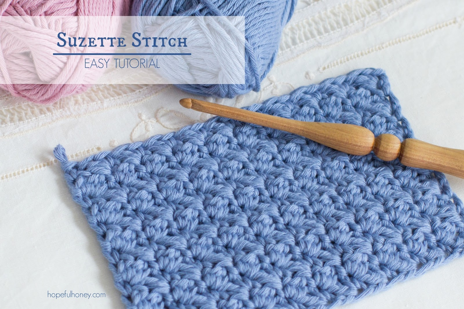 Crocheting Tutorials : ... , Crochet, Create: How To: Crochet The Suzette Stitch - Easy Tutorial
