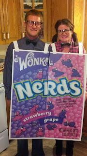 Couple Halloween Costume: Nerds