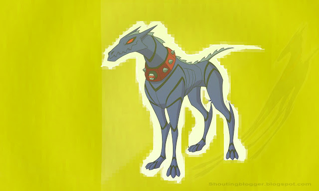 Ben 10 Omniverse Alien : Khyber's dog