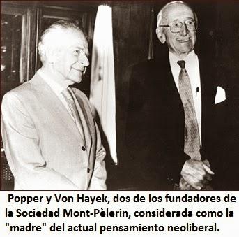 """Popper VonHayek - """"Teoría de la Conspiración"""": un concepto neoliberal para encubrir una práctica inherente al ejercicio del Poder en las sociedades de masas."""