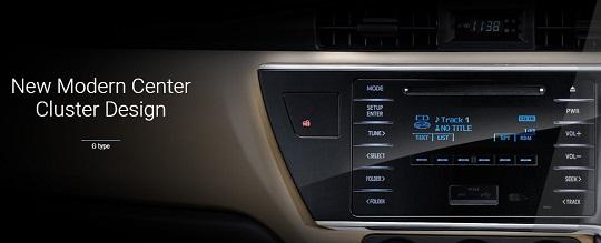 Interior Toyota Corolla Altis Tahun 2018