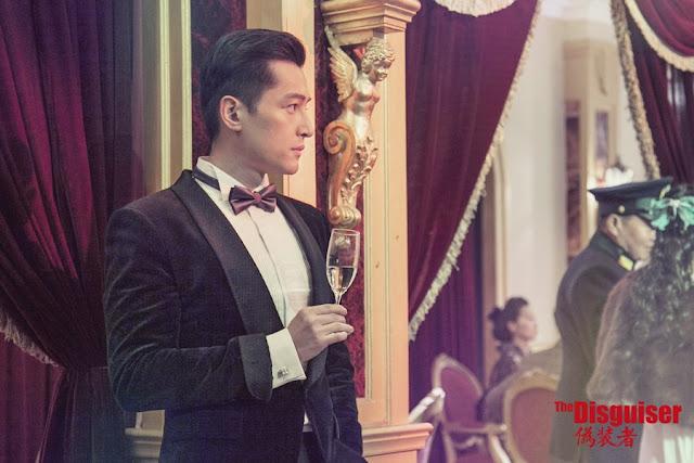 Hu Ge in Disguiser 1940s period drama