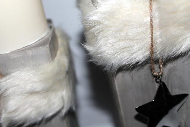 DIY Fell Kerzenständer aus Gips machen