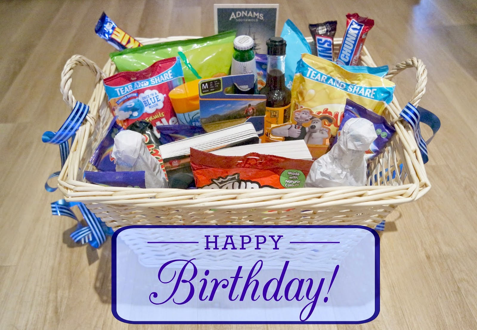 Uptown Peach: My Dad's 50th Birthday Hamper