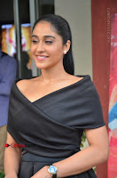 Actress Regina Candra Pos in Beautiful Black Short Dress at Saravanan Irukka Bayamaen Tamil Movie Press Meet  0013.jpg