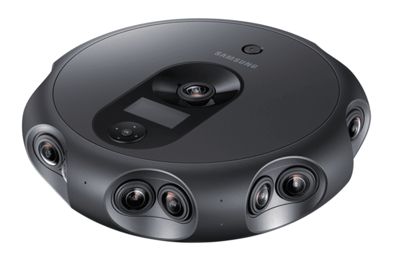Samsung Launches 360 Round Camera With 17 Lenses!
