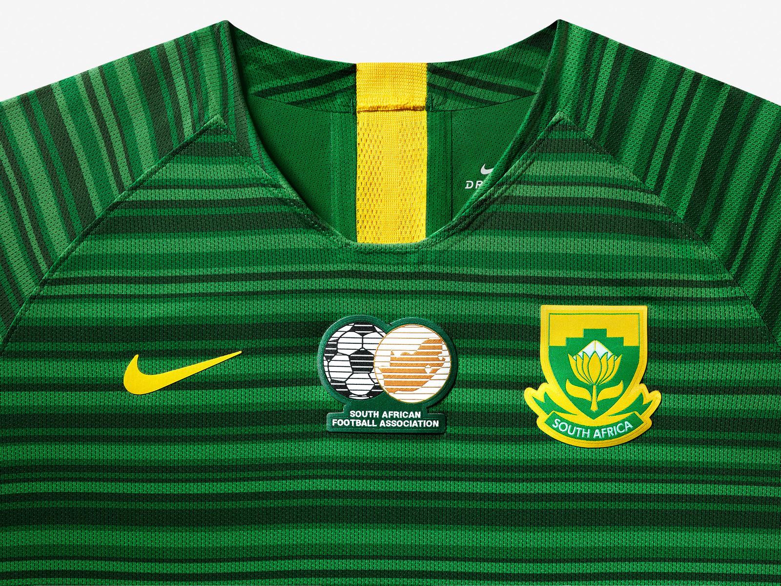e94ddf857 Nike lança as camisas da seleção feminina da África do Sul - Show de ...