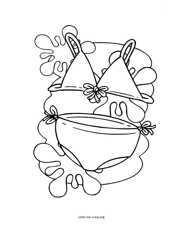 ColorMeCrazy.org: Girls Favorite Things Printable Coloring ...