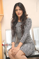 Actress Chandini Chowdary Pos in Short Dress at Howrah Bridge Movie Press Meet  0119.JPG