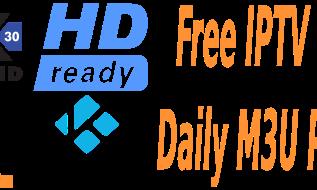 Free Daily M3U Playlist 28 November 2017