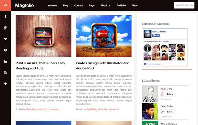 Бесплатная тема для Blogspot
