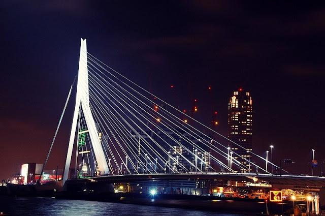 Ponte Erasmus em Roterdã
