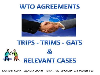 اتفاقيات تحرير التجارة في ظل المنظمة العالمية للتجارة مضمون اتفاقية الجوانب المتصلة بحقوق الملكية الفكرية Trade liberalization agreements under the World Trade Organization the content-related aspects of Intellectual Property Rights Agreement