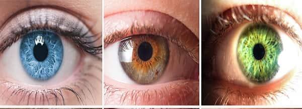 لون العين