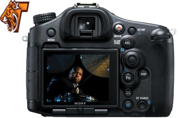 Sony SLT A99V 24.3MP DSLR Camera back cover image