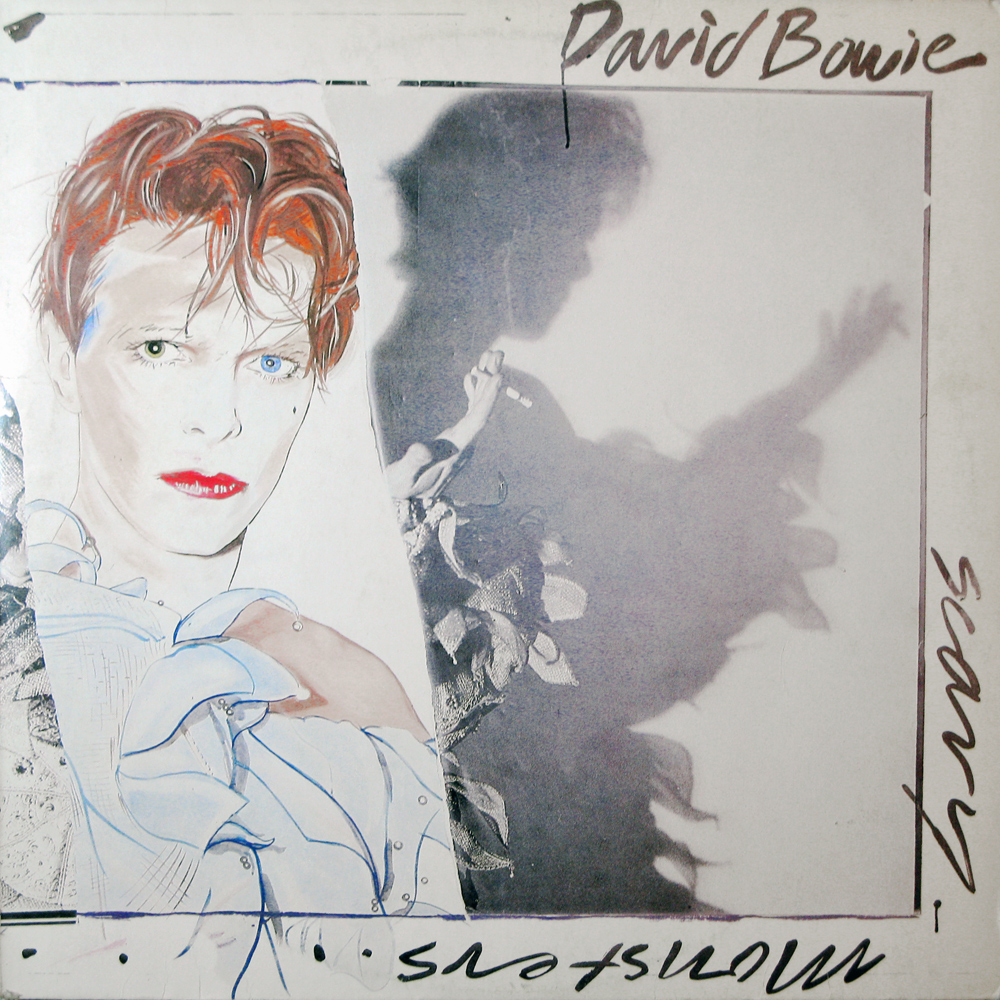 Vinyl2496 David Bowie Scary Monsters 1980 2496 Lp