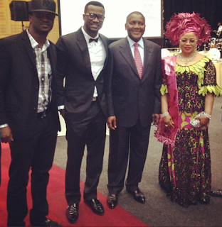 p-square, aliko dangote,aki south africa