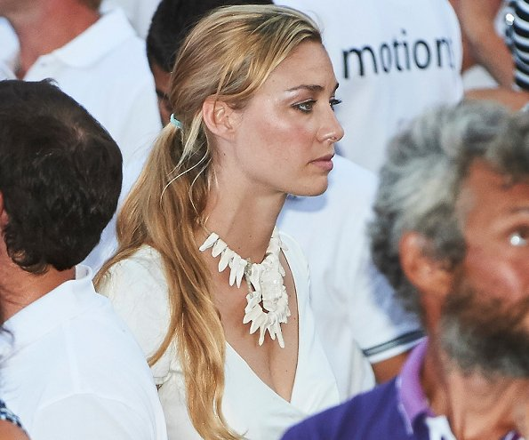 Pierre Casiraghi and wife Beatrice Borromeo attend the 35th Copa del Rey Mapfre Sailing Cup