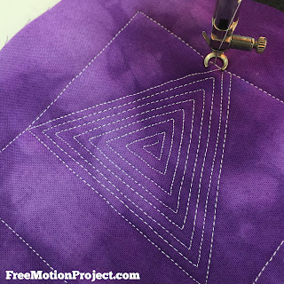 Easy Super Triangle Quilting Tutorial