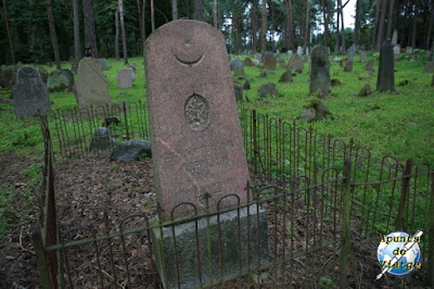 Lápida del cementerio de Kruszyniany