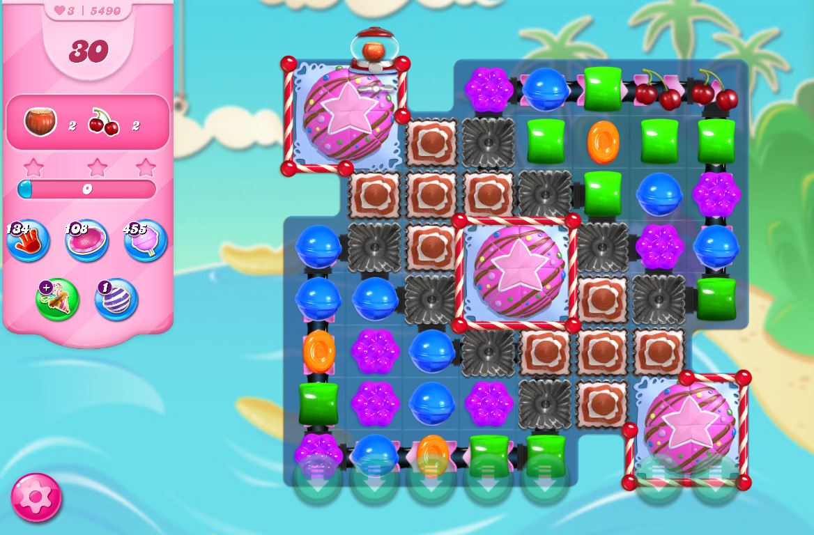 Candy Crush Saga level 5490