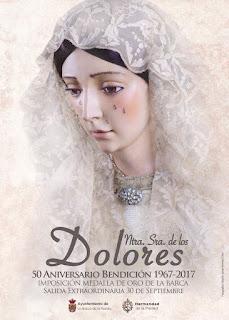 Resultado de imagen de Vídeo de la Salida Extraordinaria de Ntra. Sra. de los Dolores. La Barca 2017.