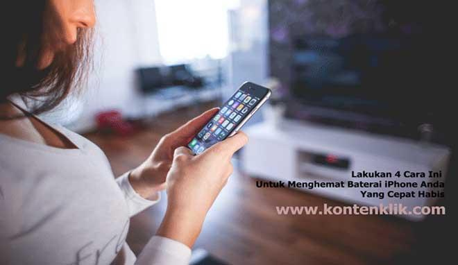 Gambar Lakukan 4 Cara Ini Untuk Menghemat Baterai iPhone Anda Yang Cepat Habis