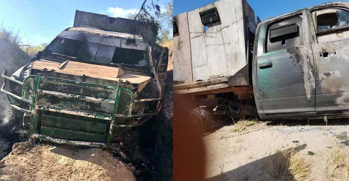 """FOTOS: Sicarios del CDG utilizan poderoso """"monstruo"""" blindado en balacera contra Los Zetas del CDN en Tamaulipas."""