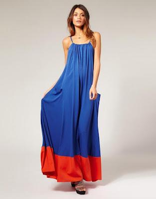 Vestidos largos juveniles sencillos