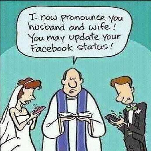 25 Pictures That Prove Technology Is Ruining Society - What a wedding?!?!
