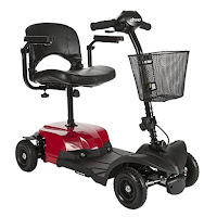 Drive Medical Bobcat X4 Compact Transportable Power 4-Wheel Mobility Scooter, review features compared with Bobcat X3