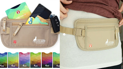 RFID Money Belt from Alpha Keeper