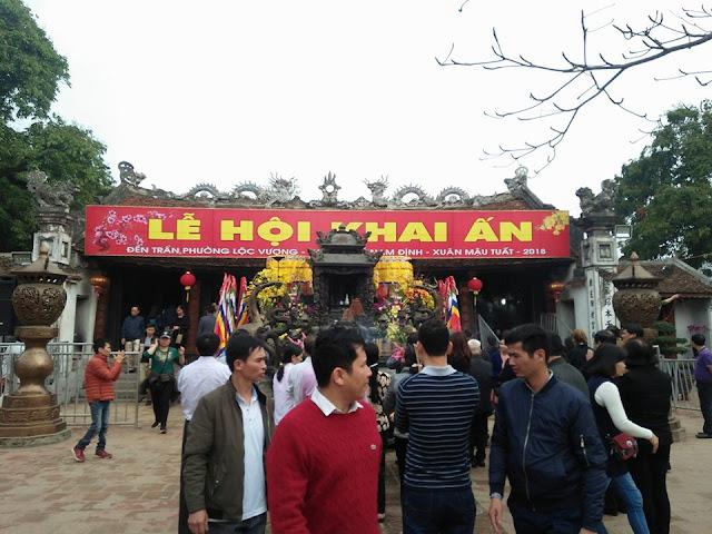 Tran Temple Festival under CCTV