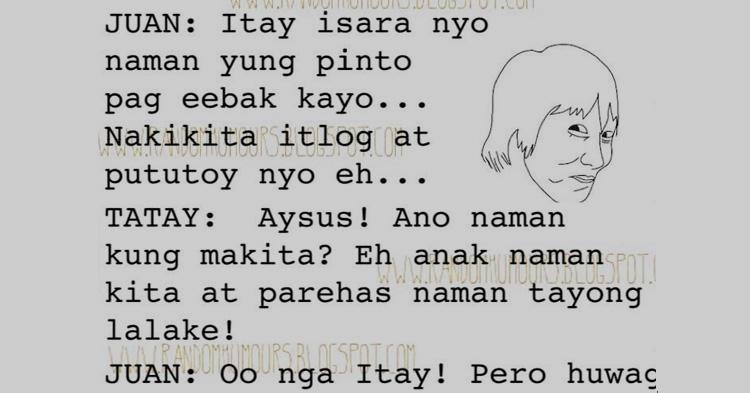 Huwag naman ganun Itay