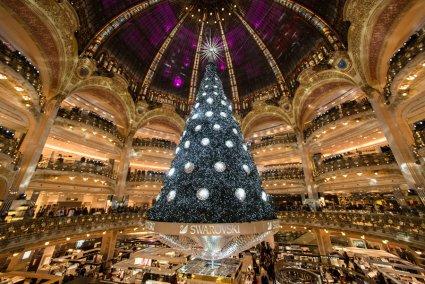 albero Natale LaFayette Parigi