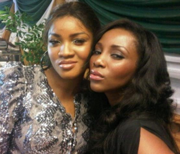 nollywood legends Omotola jalade genevieve nnaji