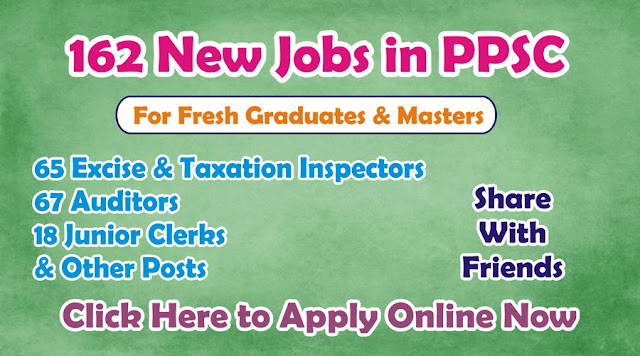New Jobs in PPSC Jobs 2016 Online Apply