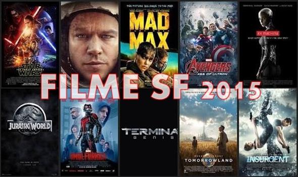 Lista cu filme SF in 2015 - peste 170 de filme