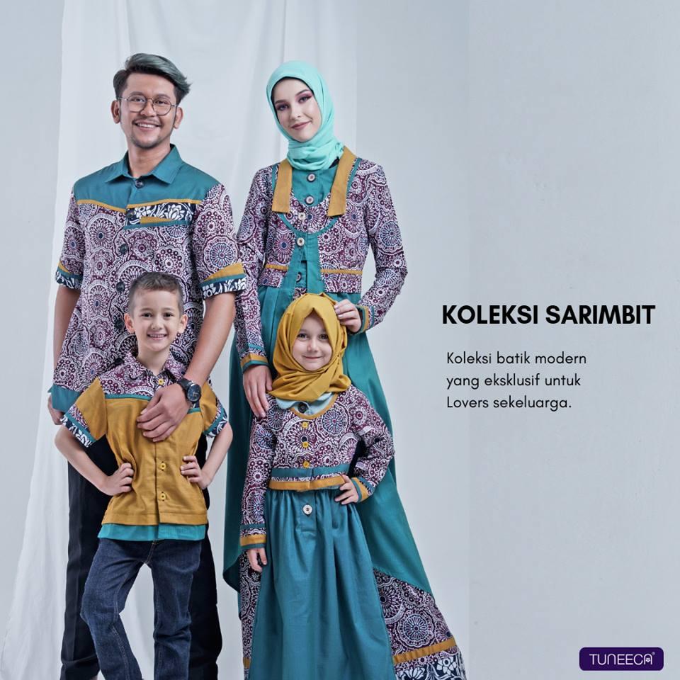 Koleksi Sarimbit Pesta Batik Tuneeca A Postcard