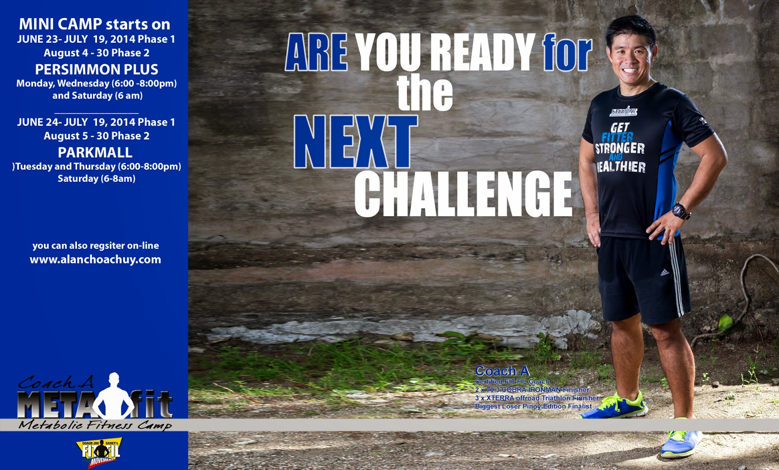 fdef477b001 Coach Alan Choachuy: Are YOU ready for the NEXT Challenge?