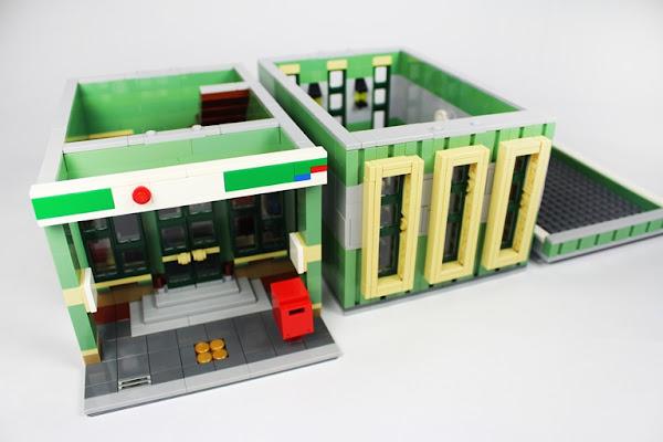 郵局建築上下拆解