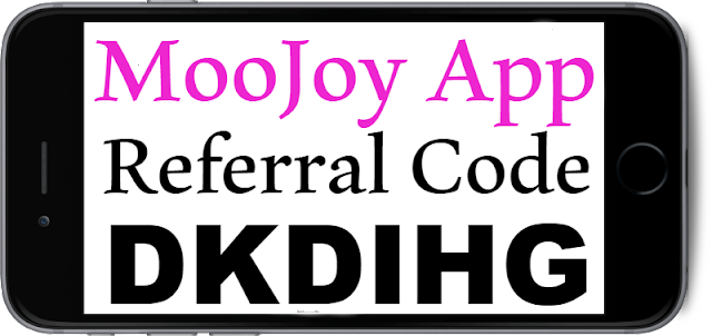 Moo Joy App Invitation Code, Referral Code, Sign UP bonus and Reviews 2018-2019