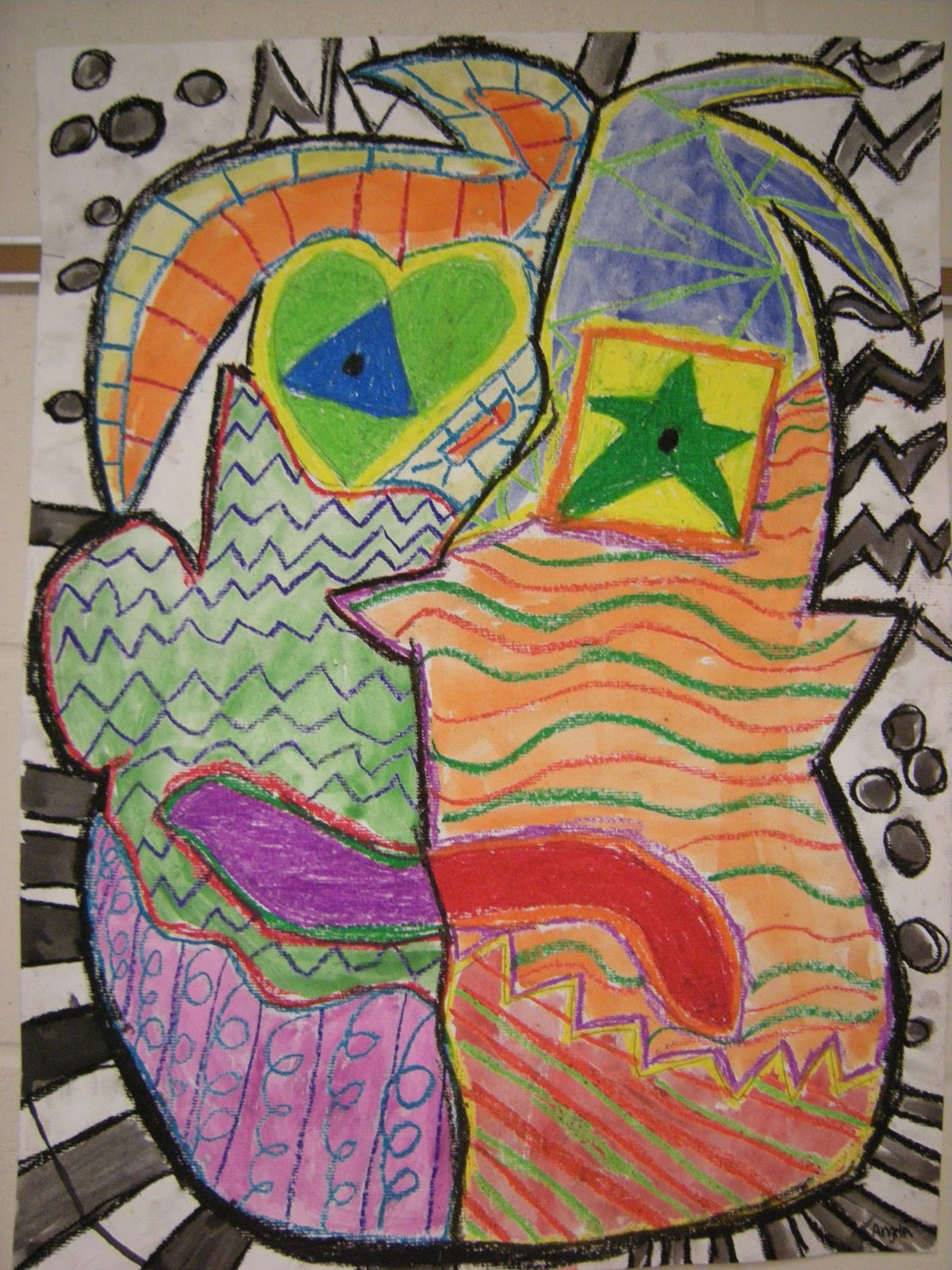 What S Happening In The Art Room 5th Grade Picasso