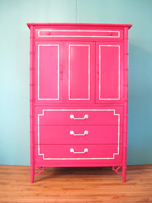 Colorful Furniture Makeovers Classy Clutter